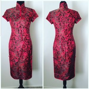 Dresses & Skirts - Gorgeous Authentic Chinese Silk Dress